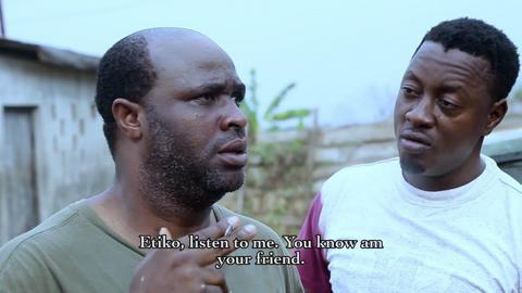 Femi Adebayo in the movie, 'Etiko Onigedu'