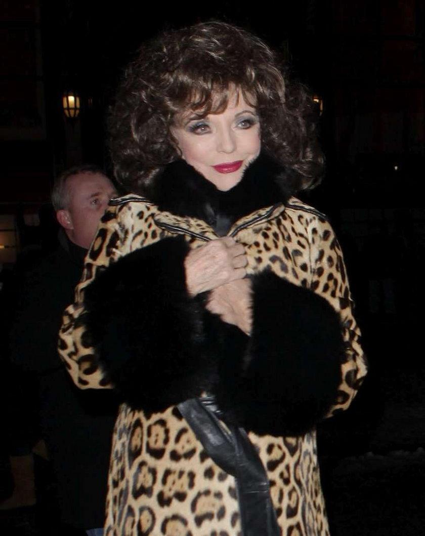 Joan Collins ma 77 lat i wygląda seksi?