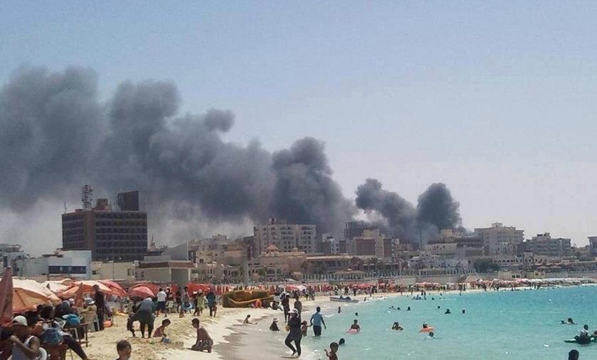 Plaża w Mersa Matruh