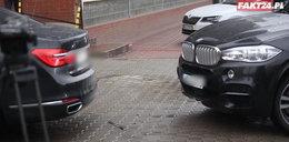 Stłuczka aut Macierewicza na Nowogrodzkiej! Mamy video!