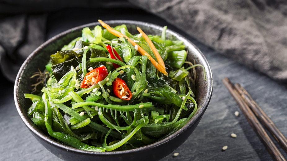 Japońska sałatka z wodorostów