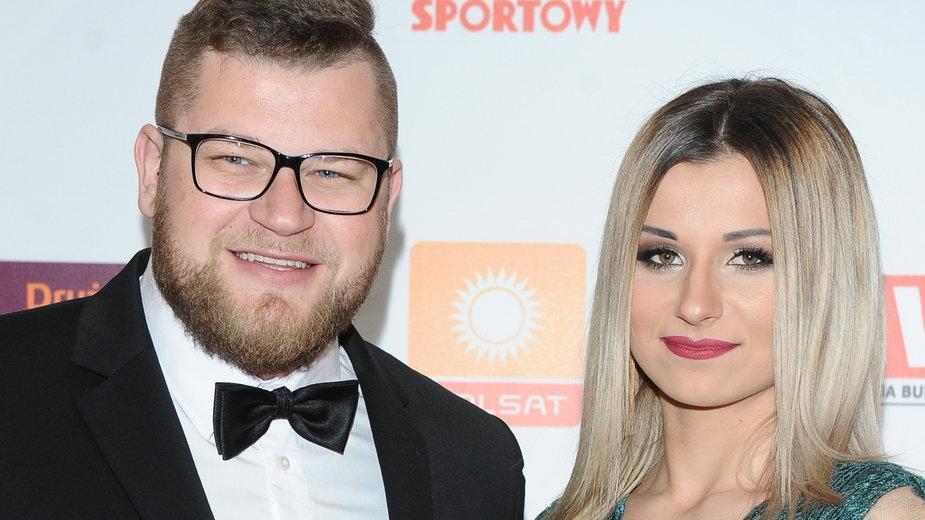 Paweł Fajdek i Sandra Cichocka