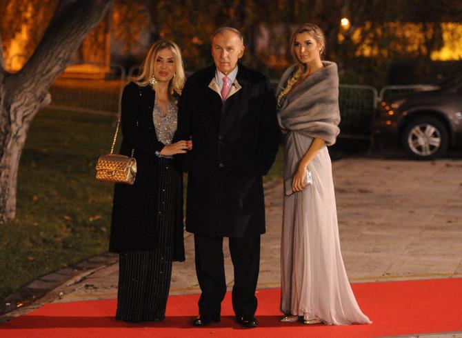 Dragana sa roditeljima 2015. u Beogradu