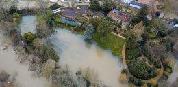 12 mln funtów pod wodą. Posiadłość George'a Clooneya zalana przez powódź