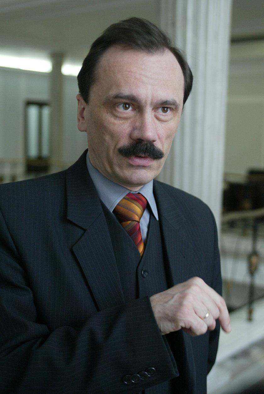 Jan Łopuszański,poseł Porozumienia Polskiego.