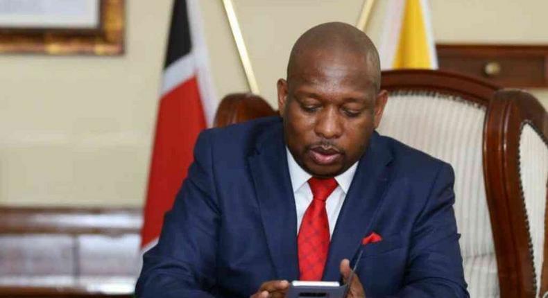Angry Sonko responds after city askaris set matatu full of passengers on fire