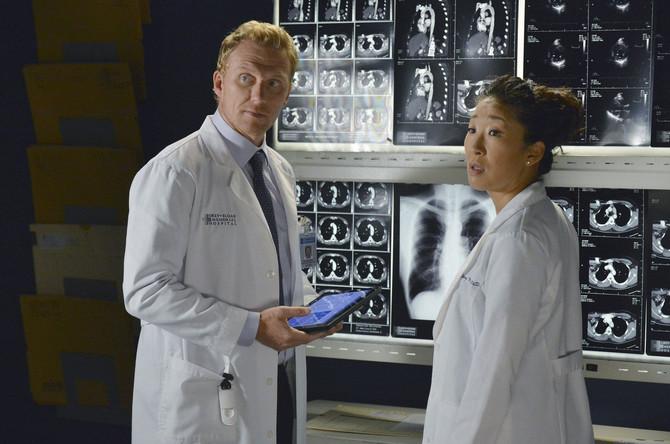 """Sandra Ou u seriji """"Uvod u anatomiju"""""""