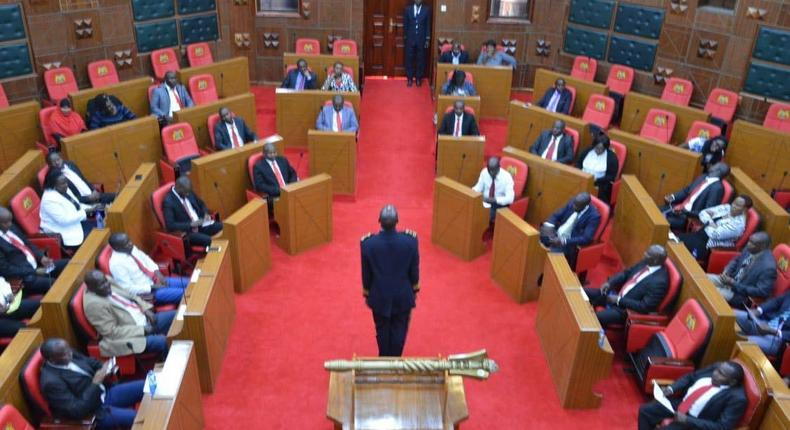 Nakuru County Assembly chambers during a past session