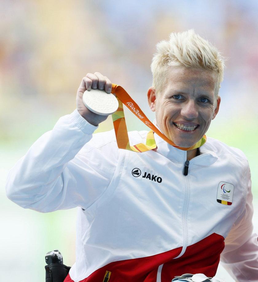 Zdobyła medal, a teraz che umrzeć