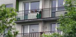 Całymi latami dręczył żonę. W końcu zrzucił ją z balkonu