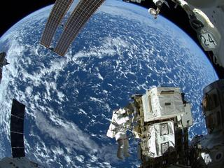 SPACE ISS SPACEWALK