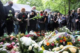 Ewa Demarczyk spoczęła w Alei Zasłużonych na Cmentarzu Rakowickim w Krakowie