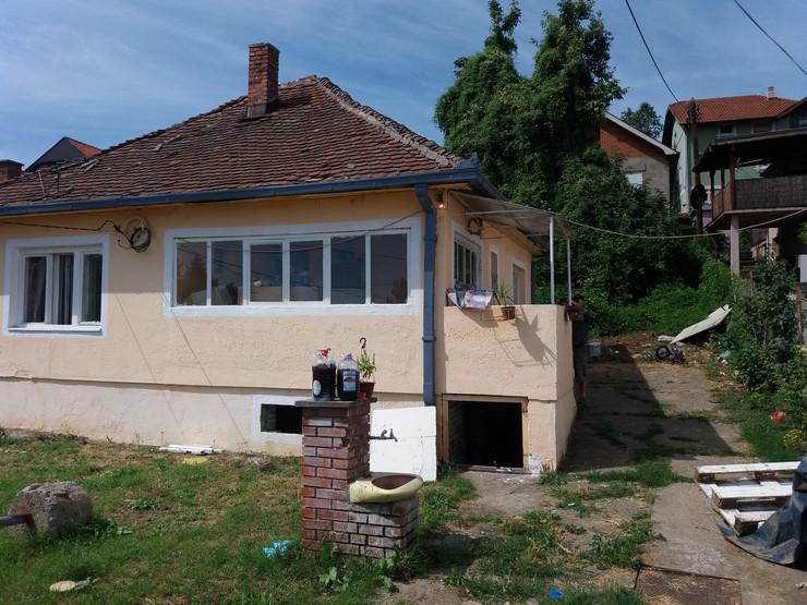 Kuća u kojoj je muž nasrnuo na ženu