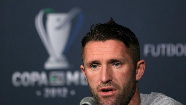 Footballer Robbie Keane is Ireland's record goal-scorer and one of the most successful foreign players to ply his trade in the US top flight