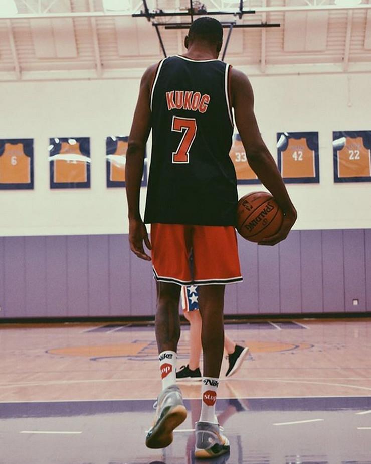 Kevin Durant, dres Toni Kukoč
