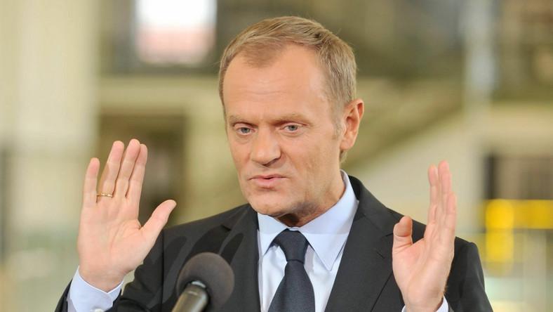 Premier Donald Tusk zadowolony z rankingu Doing Business