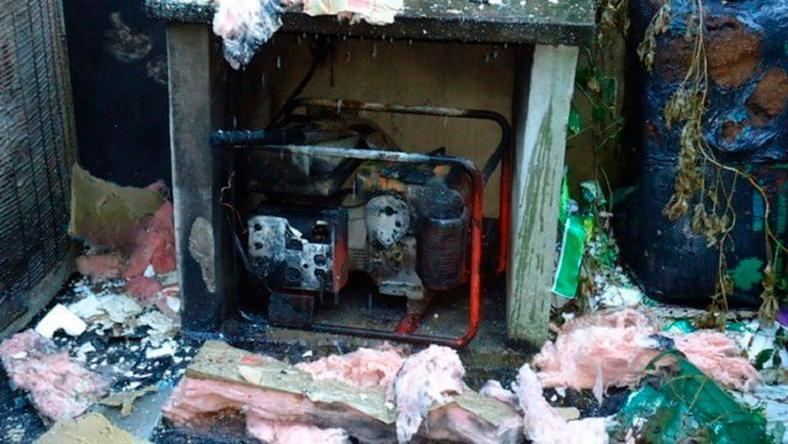Generator fire claims teenager's life
