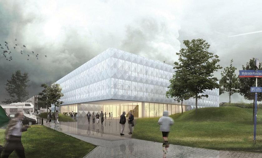 Tak będzie wyglądał nowy budynek CNK