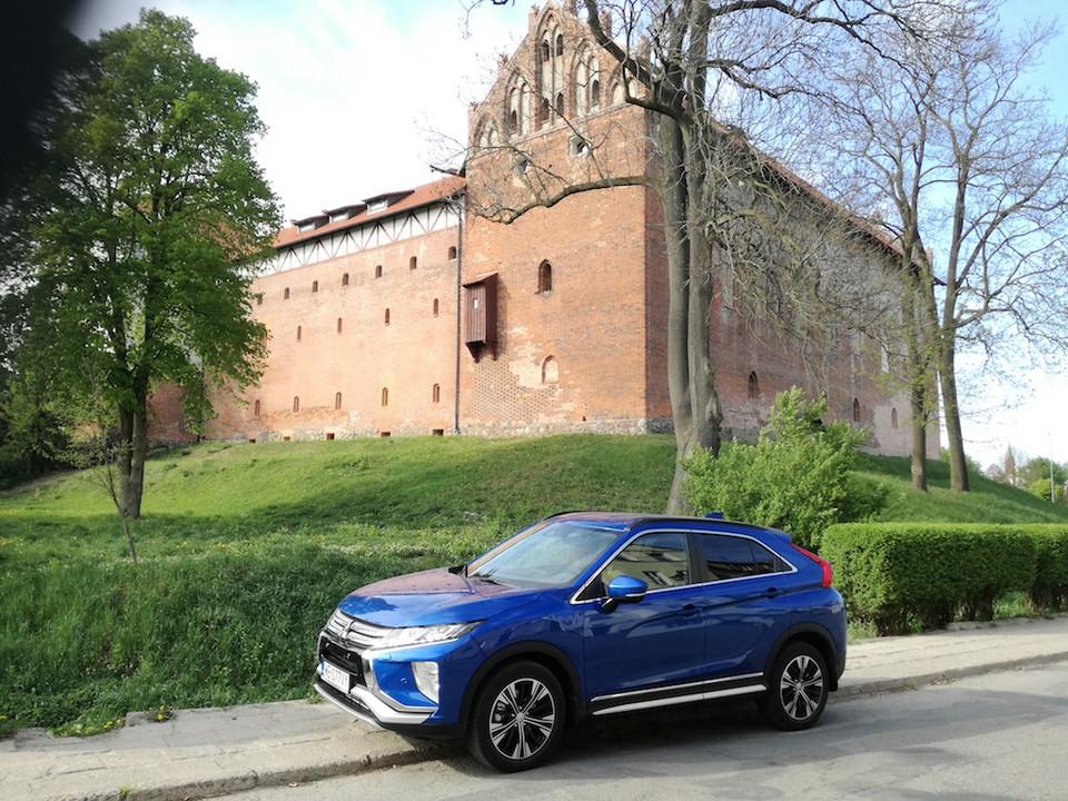Mitsubishi Eclipse Cross. Test. Pod zamkiem w Iławie