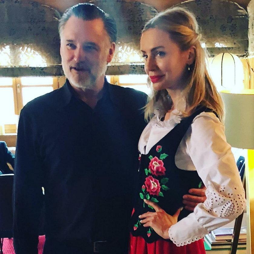 Bill Pullman i Agnieszka Woźniak-Starak
