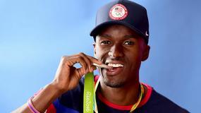 Wicemistrz olimpijski w trójskoku Claye nagrał płytę