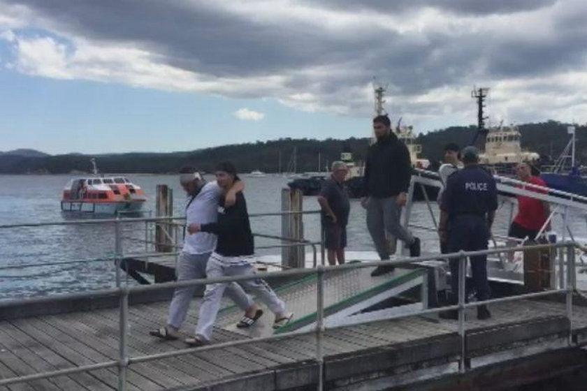 Awantury i bójki na statku. Pasażerowie bali się wychodzić z kajut