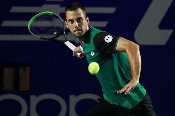 OGROMNA ŠTETA! Laslo Đere imao dve meč lopte za osvajanje ATP titule, pa doživeo poraz!