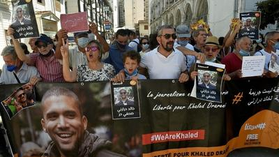 Algerian journalist Drareni jailed for two years on appeal