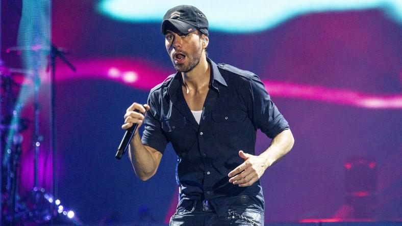 Enrique Iglesias performs in San Antonio, Texas