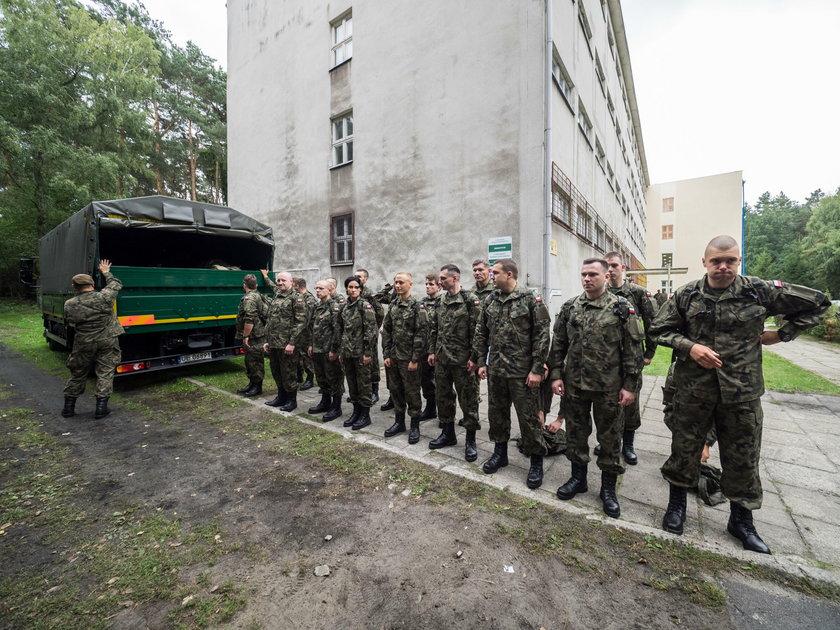 Wojska Obrony Terytorialnej szkolą sięw Zgierzu