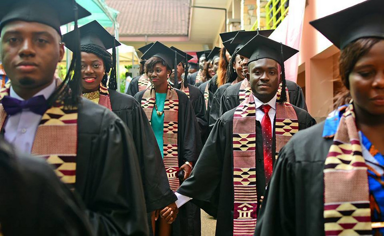 Some of Ashesi graduates.