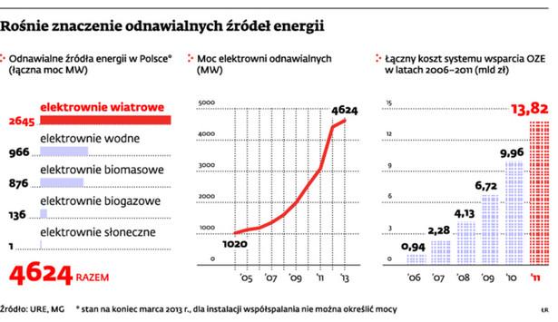 Rośnie znaczenie odnawialnych źródeł energii