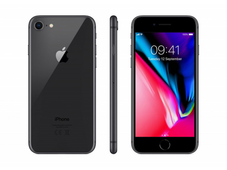 Apple iPhone 8 64GB Gwiezdna szarość (MQ6G2PMA) - 5 cali