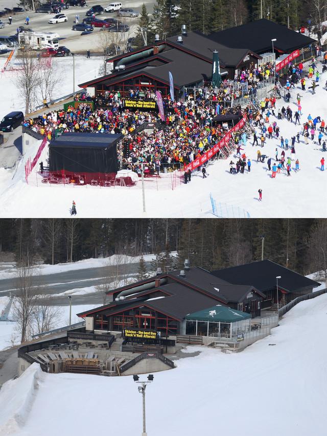 Skijalište Hemsedal je za Uskrs 2019. bilo puno, dok sledeće 2020. godine tamo nikog nije bilo