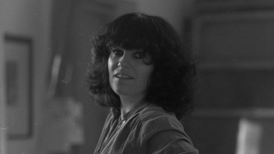 Alicja Wahl w Galerii Sztuki Alicji i Bożeny Wahl w 1980 r.