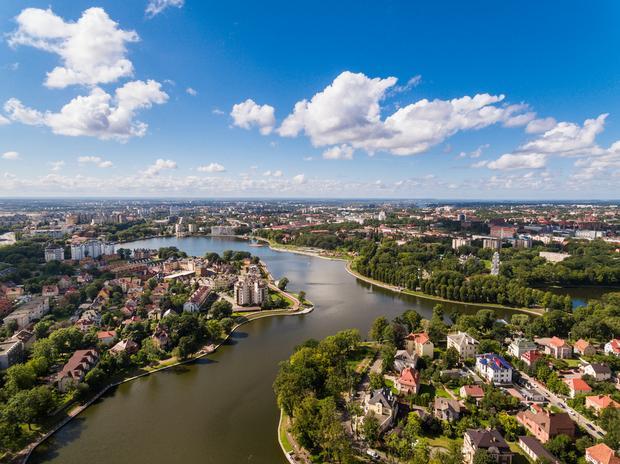 Panorama Kaliningradu