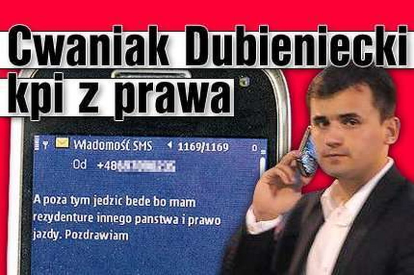 Cwaniak Dubieniecki kpi z polskiego prawa