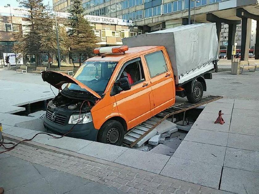 Katowice. Miasto zapada sie, bo źle wykonano remonty