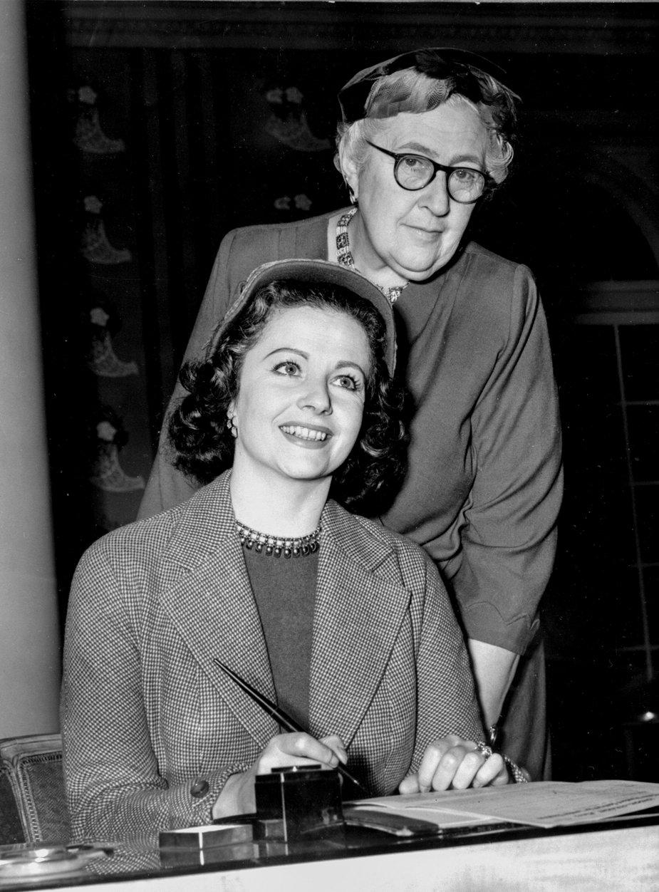 Agatha Christie i Margaret Lockwood