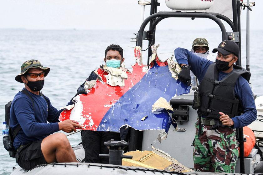 Indonezja. Katastrofa boeinga 737.  Nagranie