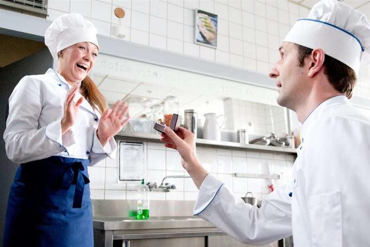 Przepis Na życie Oświadczyny W Kuchni