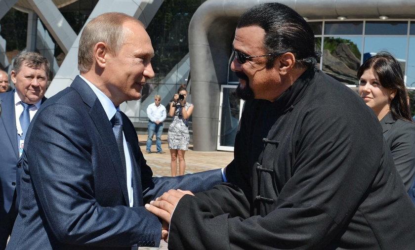 Władimir Putin i Steven Seagal