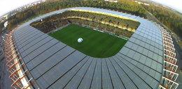 Stadion w Białymstoku otwarty. Zobacz, jak wygląda z lotu ptaka! WIDEO
