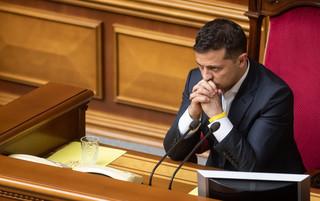 Ukraina: Skończył się miesiąc miodowy Zełenskiego