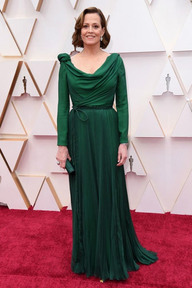 Sjajna haljina Sigurni Viver na Oskaru 2020.