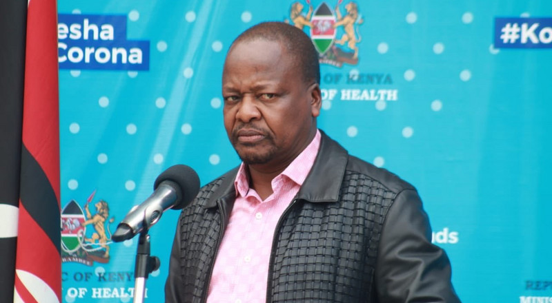 Things are not better- CS Kagwe warns as Coronavirus numbers rise drastically