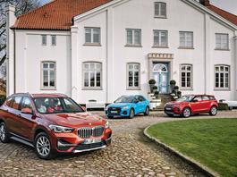 Porównanie SUV-ów klasy premium: Audi Q3, BMW X1, Range Rover Evoque