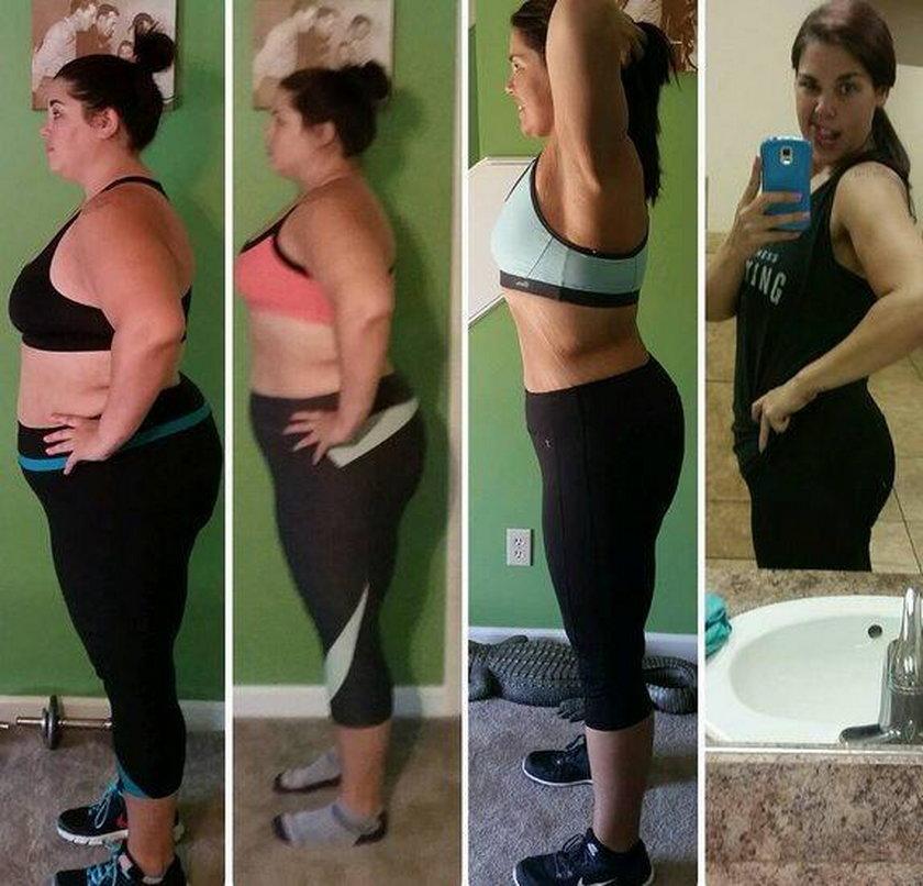 Przez zdjęcie zgubiła połowę swojej masy ciała