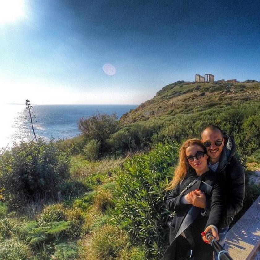 Ewa Chodakowska z mężem spędzają święta w Grecji