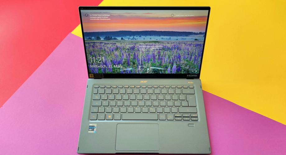 Ultrabook Acer Swift 5 Im Test Leichtgewicht Mit Touchscreen Fur 1100 Euro Techstage